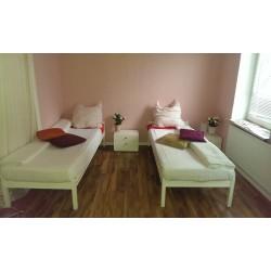Zweibettzimmer, Etagendusche oder -bad